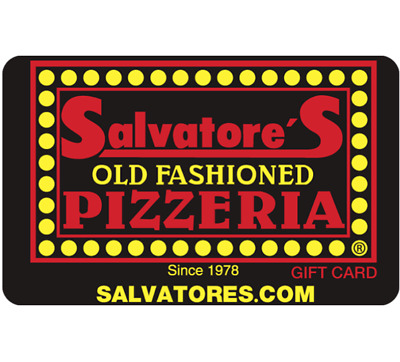 Salvatore's Old Fashioned Pizzeria Gift Card - $25 $50 $100 - Email delivery