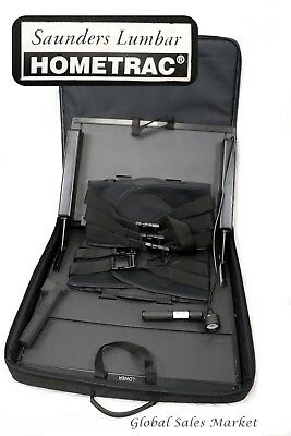 Saunders Hometrac Lumbar Traction Device In Storage Case
