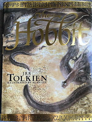 JRR Tolkien, The Hobbit 1997, Signed by Alan Lee