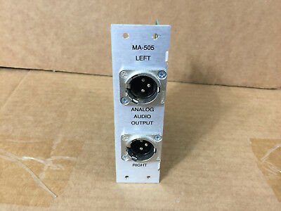 Harris GatesAir Intraplex MA-505 Analog Output Module