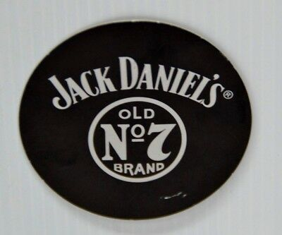 Jack Daniel's Old No.7 Brand Collectible Black Cardboard Chance To Win Token