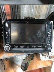 2014 2015 2016 Fiat 500 Navigation Touch Screen Receiver Radio OEM 735577843
