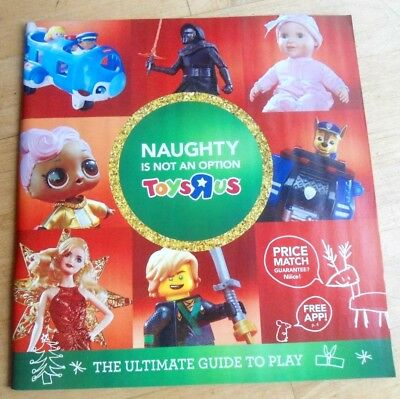 TOYS R US CHRISTMAS HOLIDAY PRESENTS XMAS 2017 catalog last issue magazine toys