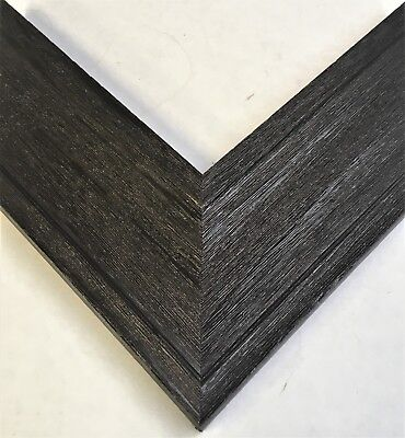 3 Wide Wood Oil Rubbed Bronze Picture Frame Moulding 18 Feet