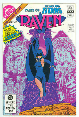 Tales of the New Teen Titans #2 Origin of Raven DC Comics 1982 NM- TV Show