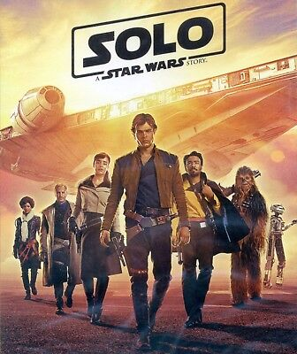 Solo: A Star Wars Story 2018 PG-13 movie, new DVD, Millennium Falcon, Chewbacca