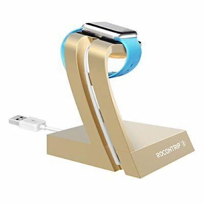 Roncontrip Charging Stand for Apple Watch 38mm & 42mm Gold  ~ Fast Ship~