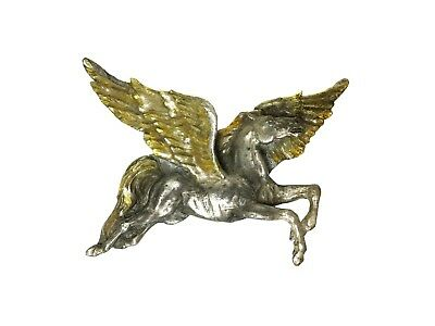Vintage Pegasus Horse Belt Buckle Bergamot Brass Works USA Made 1981