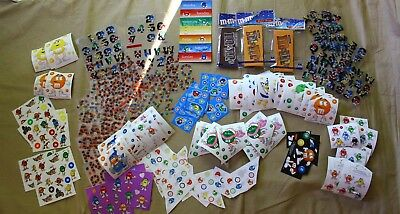 Huge Lot of M&M'S Stickers