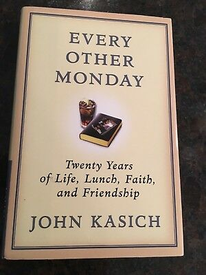 John Kasich Book   Every Other Monday   Autographed / Signed   Hard Back