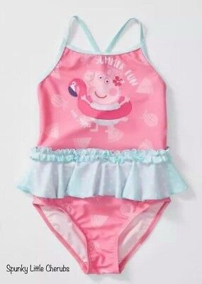 NWT Peppa Pig Baby Girls Swimmers - Size 1