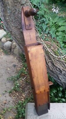 Antique Wakefield Hand Seed Planter Corn Planter Wood Iron