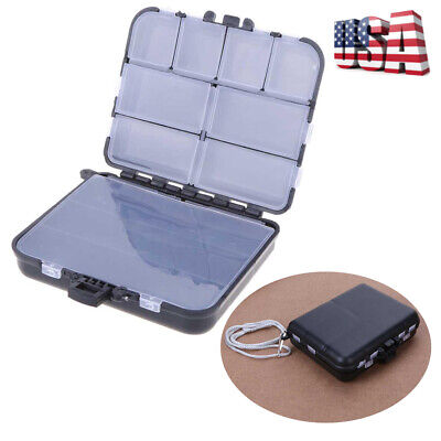 Fishing Tackle Lure Bait Waterproof Storage Box Case With 26 Compartments