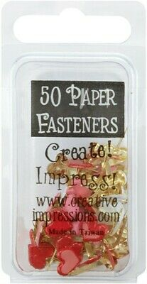 """Creative Impressions Painted Metal Dog Bone Paper Clips 1.125/""""X.5/"""" 15//Pkg-Red W"""