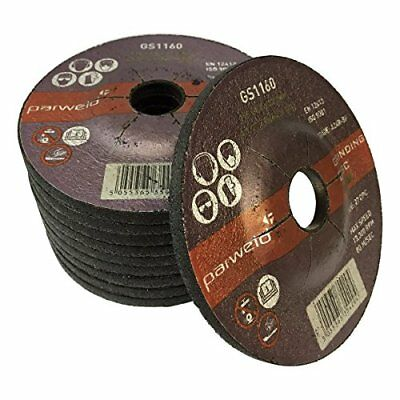 (PACK OF 50) Parweld 100mm Grinding discs for steel (100 x 6.0 x 16mm) 4`