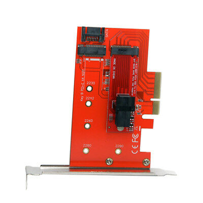 M.2 NGFF M Key SSD to U.2 U2 Kit SFF-8639 PCI-E 3.0 x4 Lane Host Adapter