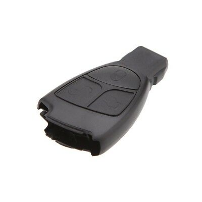 Remote Car Fob for Mercedes Benz Key Shell Case 3 Button Key Cover SS