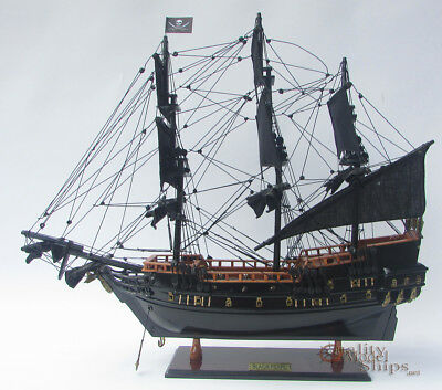 Black Pearl Ship Model Ready for Display 20""