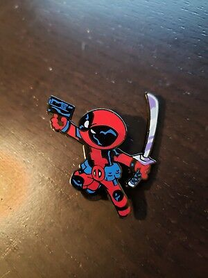 Marvel 2018 Nycc Skottie Young Mystery Pins Deadpool Pin  Exclusive