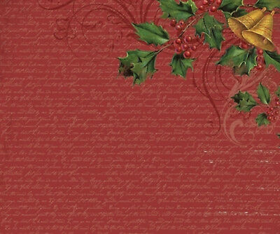 "KRIS KRINGLE - D Ring Scrapbook Photo Album 12""x12"" Kaisercraft"