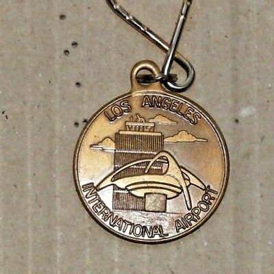 Vintage Los Angles Airport Keychain