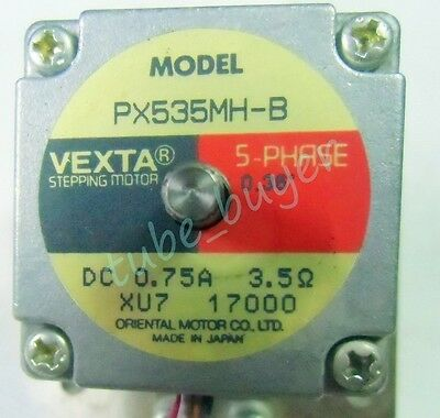 Vexta Oriental Motor PX535MH-B linear stage used #7