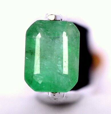 1.63 Cts Certified Natural Emerald Octagon Cut 8x6 mm Untreated Loose Gemstone