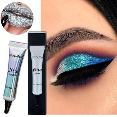 Eyeshadow Sequin Glitter Primer Cream Face Lip Eye Makeup Cosmetic Tools 10ml