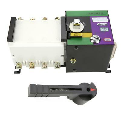 Neu Dual Power Automatic Changeover Transfer Switch Transferschalter ATS 100A/4P