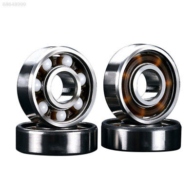 F23D 608RS Ceramic Ball Inline Skates Scooter Wheel Spare Bearings Drift Plate-S
