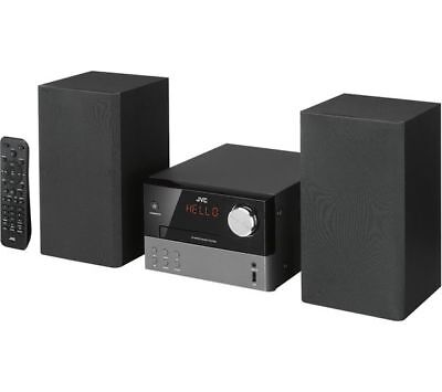 Jvc Ux-D327B Traditional Hi-Fi Stereo System Dab Cd Wireless Bluetooth Nfc Usb