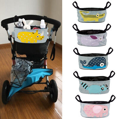Baby Stroller Bag Cute Carriage Pram Cart Animal Storage Water Bottle Diaper Bag