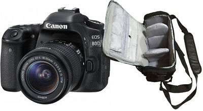 NEW Canon 80D + 18-55mm IS STM + KamKorda Professional Bag UK NEXT DAY DELIVERY