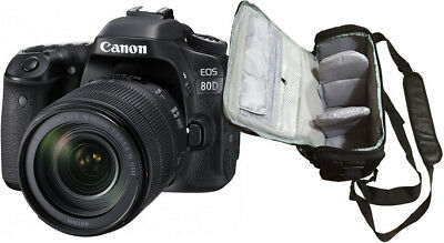NEW Canon 80D + 18-135mm IS USM + KamKorda Camera Bag + UK NEXT DAY DELIVERY