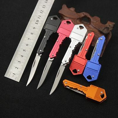 Fishing Camping Outdoor Survival Pocket Folding Blade Key Knife Small Knife Gift