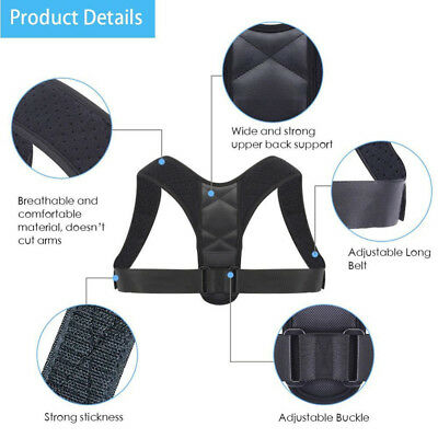 BodyWellness Posture Corrector (Adjustable to All Body Sizes) Free Shipping Y3R