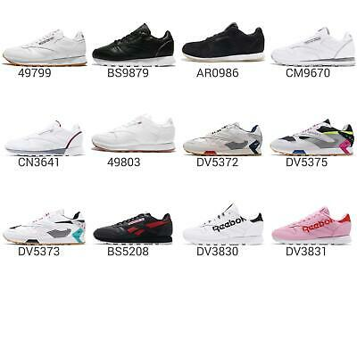 568159de4b497 Reebok Classic CL Leather   Archive Men   Women Vintage Running Sneaker  Pick 1