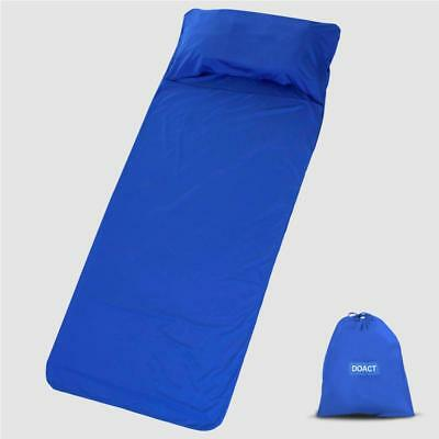 Portable Soft Cotton Travel Sleeping Bag Hotel Sleep Sheet Sack for Camping