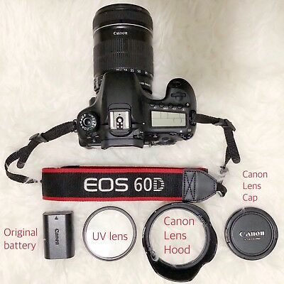 Canon EOS 60D 18.0MP Digital SLR Camera w/ Kit Lens EF-S 18-135mm f/3.5-5.6 IS
