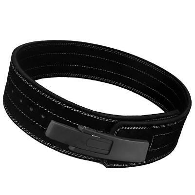 Leather Weight Lifting Belt Powerlifting Bodybuilding Fitness Gym & Training BL