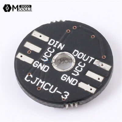 WS2812 3Bit 5V 5050 RGB LED Lamp Panel Board Round for Arduino Good