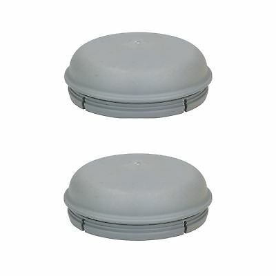 2 Pack Replacement 76mm Dust Hub Cap Cover IFOR WILLIAMS Trailer Drum