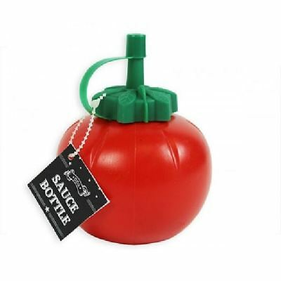 2 x Retro Round Tomato Shaped Ketchup Sauce Bottle Dispensers free delivery