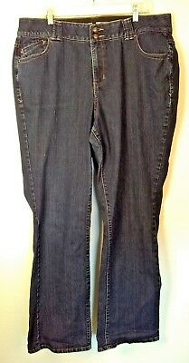 Lane Bryant Straight leg Tighter Tummy Technology Jeans Women's Size 20 Tall