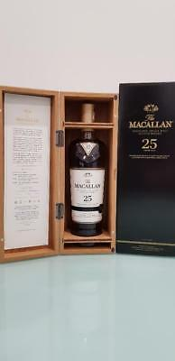 The Macallan Sherry Oak 25 Year Old Single Malt Scotch Whisky 700ml @ 43 % abv