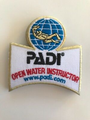 """PADI OPEN WATER INSTRUCTOR SCUBA DIVE DIVING PATCH 4/"""""""