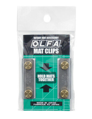 Set Of 2 Olfa Mat Clips (Hold Mats Together)