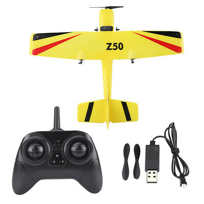 Airplane Remote Control RC Plane Glider Aircraft Model Drone Toy Gift  (Yellow)