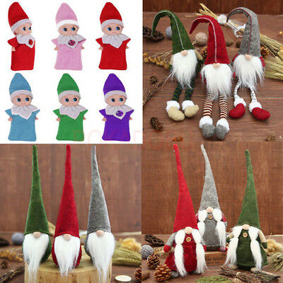 Elf-on-the-Shelf-Baby-Santa-Plush-Toy-Christmas-Plush-Doll-Boy-Girl-Figure-Decor