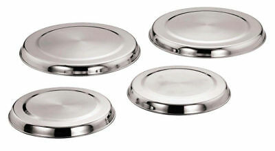4Pc Hob Cover Set Stainless Steel Electric Cooker Protector
